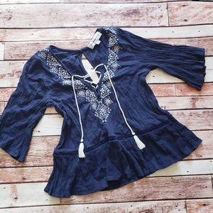 Abercrombie and Fitch xs top